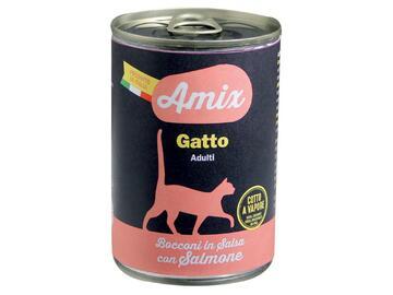 Amix Cat 400 gr salmone cibo per gatti