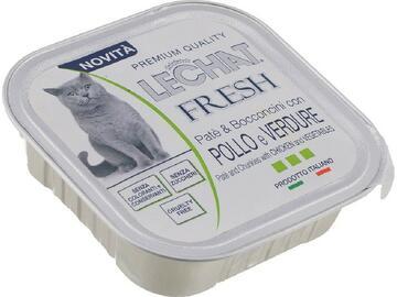 LeChat Busta Fresh 100 gr Pollo e Verdure cibo per gatti