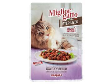 Miglior Gatto Sterilized gr.85 Agnello e Verdure cibo per gatti