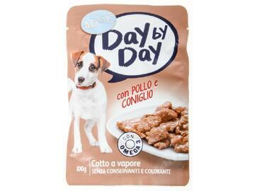 Adoc Dog Busta 100 gr.Pollo e Coniglio cibo per cani
