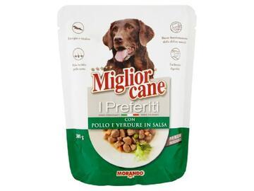 Miglior Cane Preferiti gr.300 Pollo e Verdure in Salsa cibo per cani