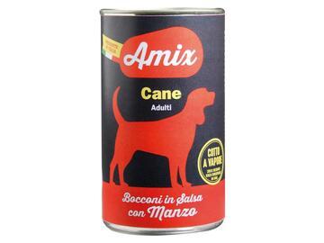 Amix Dog 1250 gr. Manzo cibo per cani adulti