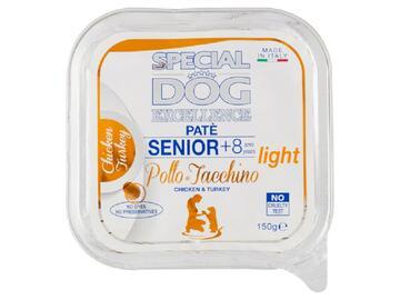 Special Dog 150 gr. Pate' Senior Pollo e Tacchino cibo per cani