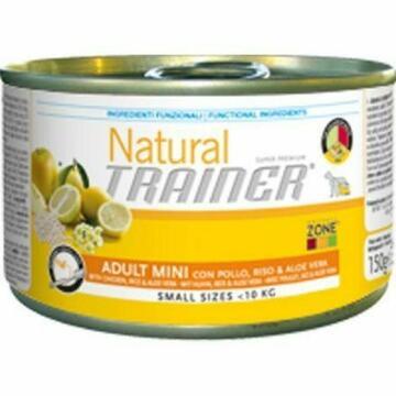 NATURAL TRAINER 150 GR. ADULT MINI, POLLO  RISO