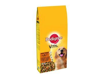 Pedigree 1,5 Kg Adult Croccantini cibo per cani