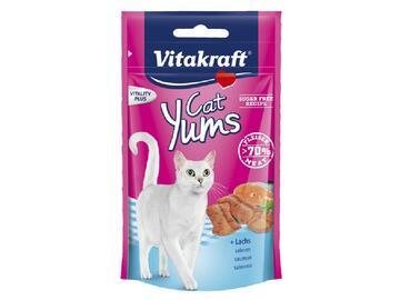 Cat yums salmone