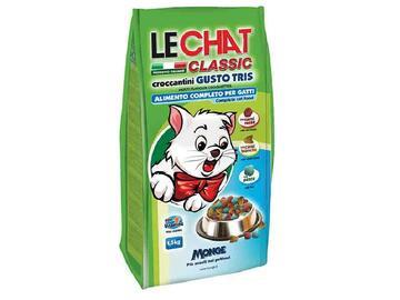 LeChat Exc.1,5 Kg.Croccantini cibo per gatti