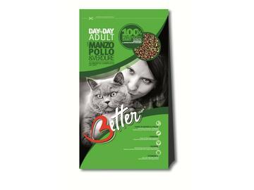 Better Cat 800 gr.Manzo Pollo e Verdure cibo per gatti