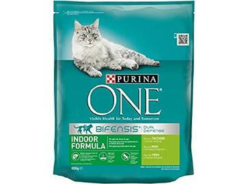 One 800 gr Indoor Tacchino Croccantini cibo per gatti