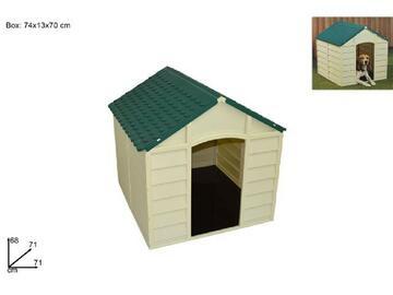 Cuccia per cane, da esterno, 71x71x68 cm.