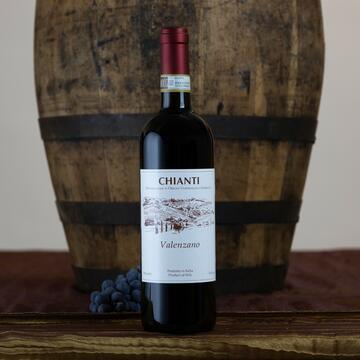 Vino Rosso Chianti Valenzano DOCG 750 ml