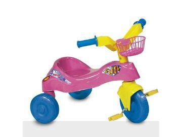Triciclo Flash con cestino porta oggetti, per far divertire il tuo bambino aiutandolo alla coordinazione motoria.