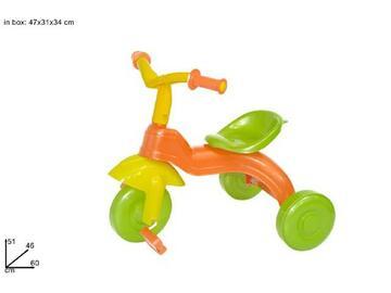 Triciclo Tombolino, adatto a bambini da 12 mesi in su.