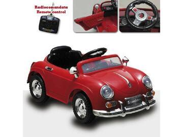 Speedstar, guida il tuo bambino e fagli guidare questa splendida macchinina dallo stile retro.