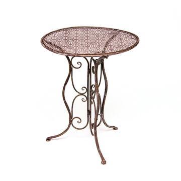 Elegante tavolino da esterno in bronzo!
