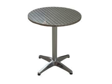 Tavolo per bar/bistrot Alois in alluminio, diametro 60, altezza 70