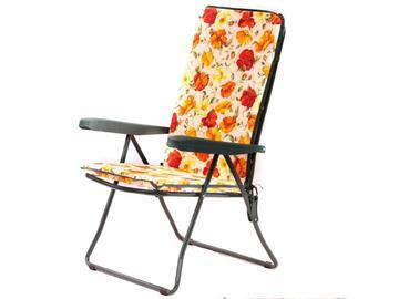 Cuscino per sedia a sdraio, comodo e morbido, a fantasia floreale.