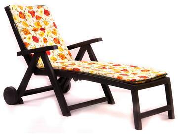 Cuscino per lettino, comodo e morbido, a fantasia floreale.