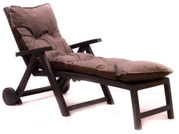 Cuscino imbottito per lettino, comodo e morbido, in colore taupe.